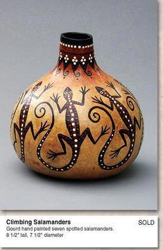 Martha Boers - Gourd Art