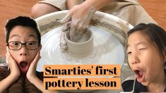 Pottery lesson in Singapore. Pottery is a great activity for kids where they learn to focus and train their motor skills as well. It brings out their creativity while designing and creating their work. Pottery Lessons, Pottery Classes, What Is Pottery, Youtube Videos For Kids, Types Of Ceramics, Fun Activities To Do, Home Learning, Lessons For Kids, Sensory Play