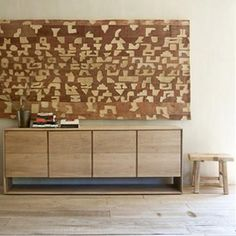 Ethnicraft Oak Nordic Sideboard with 4 doors - Curious Grace