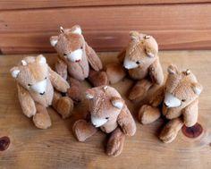 【増産しました(o´∀`o)】 どんぐりクマさん|人形|hataco|ハンドメイド通販・販売のCreema