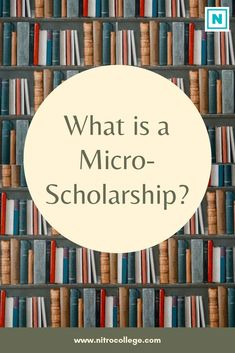 Learn what Micro-Scholarships are and how they can help you as a high school student, community college student, or parent. student What is a Micro-Scholarship and How Can You Get One? Online College, College Fun, Education College, College Students, College Tips, College Ready, College Checklist, College Dorms, University College