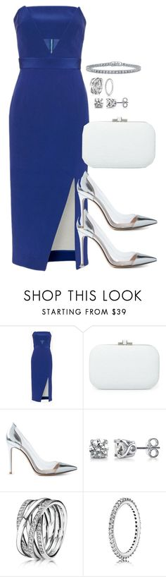 """Unbenannt #2076"" by luckylynn-cdii ❤ liked on Polyvore featuring moda, Nicholas, Judith Leiber, Gianvito Rossi, BERRICLE e Pandora"