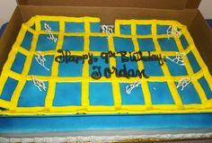 Awesome Trampoline Cake - seen at Sky High Sports. 11th Birthday, Boy Birthday Parties, Birthday Cake, Birthday Ideas, Trampoline Cake, Old Ones, Amazing Cakes, Food Art, Party Planning