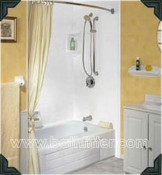 Bathroom Remodeling Acrylic Bathtubs And Showers Bath Fitter - Bath fitters for the bathroom