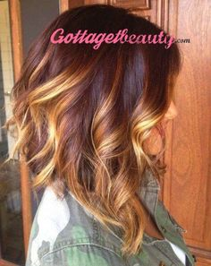 Prettiest Fall Hair Color Ideas!