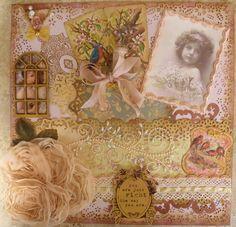 ~Scraps of Elegance~ Beautiful Little Girl - Scrapbook.com