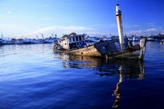 at Paotere harbour, Makassar