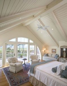 awesome 17 Lovely Attic Master Bedroom Decor Ideas , , – life is Life Attic Master Bedroom, Bedroom Ceiling, Home Bedroom, Bedroom Decor, Bedroom Ideas, Extra Bedroom, Attic Bathroom, Attic Bedrooms, Upstairs Bedroom