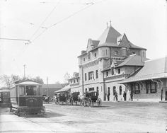 File:Broad Street railway station and street car Ottawa Kensington School, Migrate To Canada, Canadian Forest, Ottawa Valley, Capital Of Canada, The Great Fire, Canadian History, Largest Countries, Architecture