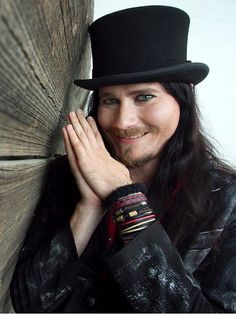 His smile. Metal Bands, Rock Bands, Metal Sinfónico, Kai, The Rasmus, Gothic Men, Sarah Brightman, Symphonic Metal, Mike Patton
