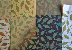 Müllerin Art: fall-fish-pattern (Muster-Mittwoch # 101)