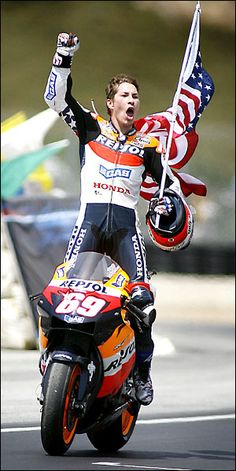 2006 - Nicky Hayden I miss sitting on the Corkscrew hill in the shade watching MotoGp!! I can't believe it has been 9 years ago already since I was there!