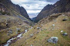 The landscapes of Lares, Peru