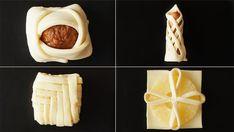 ビデオ指示付きレシピ: 市販のパイシートで出来る簡単アレンジ4WAY!いろんな具材を入れてみんなでワイワイ作ってみてね☆ 材料: パイシート 4枚, , パイナップル 4枚, スウィートポテト 適量, ミートボール 4個, ソーセージ 4本, 【事前準備】, パイシートを4等分に切っておく Pasta Dinner Recipes, Dessert Recipes, Desserts, Cream Cheese Danish, Creative Food Art, Food Garnishes, Oreo Cheesecake, Home Recipes, Food To Make
