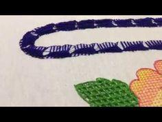 Puntada Fantasia asa canasta de rosas - YouTube Make It Yourself, Embroidery, Youtube, Tutorials, Handmade, Wings, Machine Embroidery Designs, Embroidery Machines, Blade