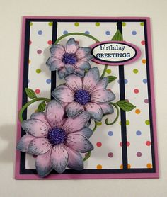 SC595 Birthday Greetings_lb by Clownmom - Cards and Paper Crafts at Splitcoaststampers