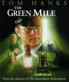 The Green Mile Directed by Frank Darabont. Starring: Tom Hanks, David Morse, Michael Clarke Duncan, James Cromwell and Sam Rockwell. - just finished watching this film! Such a great emotional film! Film Music Books, Music Tv, John Coffey, Cinema Paradisio, Miles Movie, Bonnie Hunt, Little Dorrit, Stephen King Books, Stephen Kings