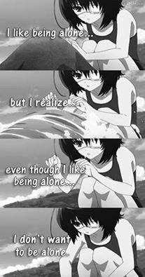 anime quotes. Another | anime | misaki mei |