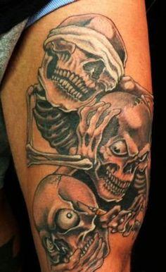 Ash Evil Tattoo 25 Graceful Scary Tattoos