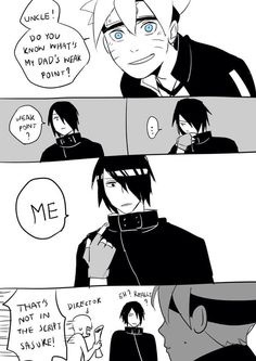 Follow the damn script Sasuke! ❤️❤️❤️❤️