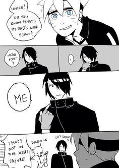Follow the damn script Sasuke!