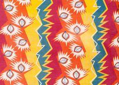 Soviet lightbulb themed fabric.
