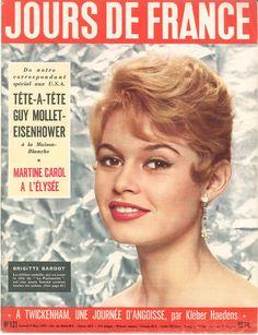 Brigitte Bardot - Jours de France n°121, 9 mars 1957