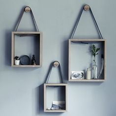 Creative DIY ideas for living room shelves (image by Rowen and Wren)
