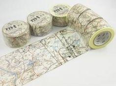 Image of Map Washi Tape