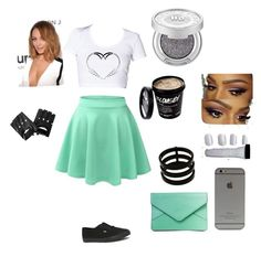 Ooo la la by naysia22 on Polyvore featuring polyvore, beauty, Urban Decay, Repossi and Vans