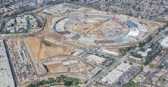 Apple posts new aerial shot showing Campus 2 construction progress