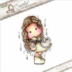 The Rubber Buggy  - Magnolia Stamps - Spring Fever - Spring Rain Tilda - PreOrder, $13.99 (http://www.therubberbuggy.com/magnolia-stamps-spring-fever-spring-rain-tilda-preorder/)