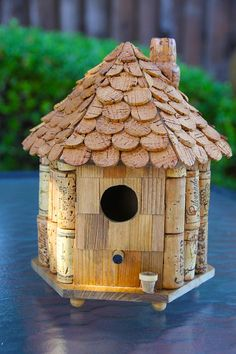 Birdhouse Gazebo by CarefullyCorked on Etsy, $44.95