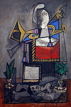Pablo Picasso -  Monument to the Spaniards who Died for France -  1946-1947, Spain, Madrid, Reina Sofia Museum