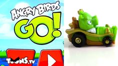 angrybird telepods | Angry Birds Go App and Telepods! - YouTube