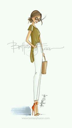 Brittany Fusion Fashion Illustrator