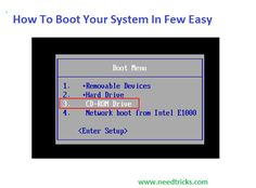 """At times, in case you're investigating your PC or introducing another working framework, you'll need to """"boot it from a circle"""" or USB streak drive. This is what that implies, and how to do it. When you press the power catch on your PC, it boots up from its inner hard drive, where you're working framework (generally Windows, OS X, or Linux) is put away.   Be that as it may, some of the time, you have to boot into something else. Possibly you have to boot from your Windows establishment plate…"""