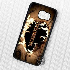 Supernatural Burning Map - Samsung Galaxy S7 S6 S5 Note 7 Cases & Covers