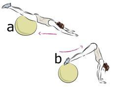 Ćwiczenia na brzuch: trening Olgi Bołądź cz.1 Fitness