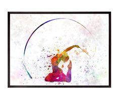 Gymnastique rythmique 01 REF 0650 par Paulrommer sur Etsy