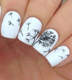 Dandelion + White + Square