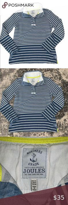 BNWT Joules Boys Woody Pique Polo Shirt T-Shirt French Navy Blue Cotton Classic