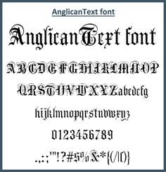 Free Old English Fonts