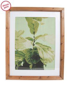 4e7a3e0d86d1 Fresh Botanical Print Wall Art - Wall Decor - T.J.Maxx