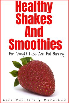 healthy shakes and smoothies