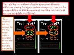Free New Classroom Management noise level App