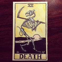 Tarot Cards - Death XIII