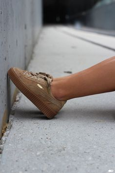Street Look-PUMA by Rihanna Creeper
