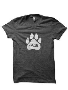 The Fur & Collar Rescue T-shirt is a great way to show off your love for your best little buddy. 50% of total profits from the sale of the Rescue Shirt will be donated to a charity or organization wit