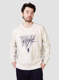 Flight Sweat Shirt Cream